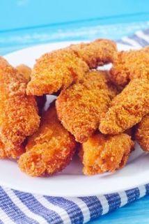Breaded buffalo chicken tenders