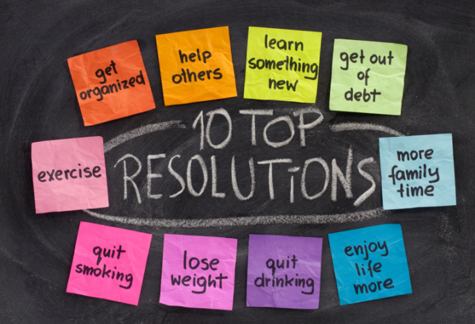 new Year 2016 Resolutions