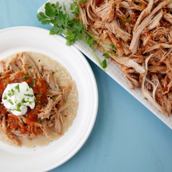 Crockpot Chorizo Spiced Pulled Pork