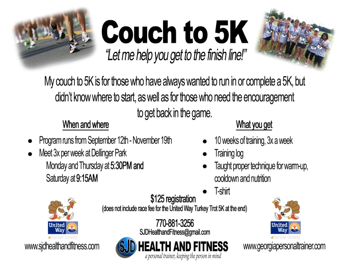 2nd Couch to 5K flier